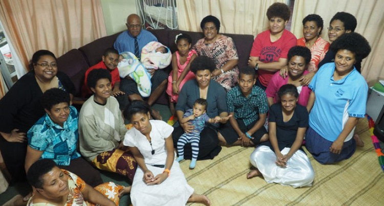 Rabuka 67th Celebrates Birthday With Family