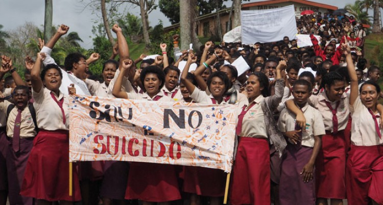 'Say No To Suicide, Yes To Life'