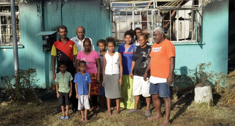 Families Seek Assistance