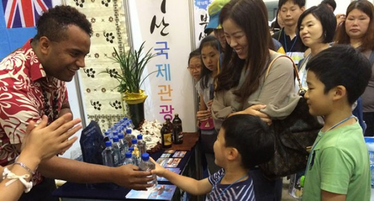 Fijian Booth Attracts Thousands Of Koreans