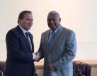 PM Meets Swedish Counterpart