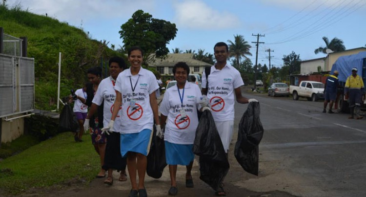Nasinu Turns Out For Dengue Clean-Up