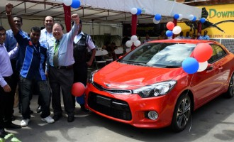 Khan Excited With Kia  Cerato Win