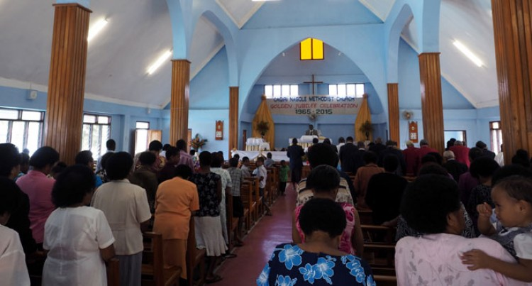Church Remembers  History As Golden Jubilee Begins