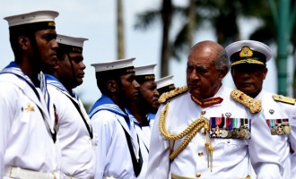 Last Fiji Day As President