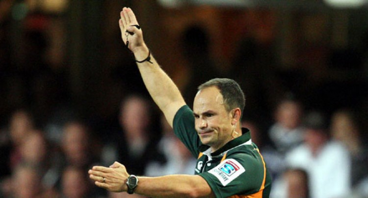 Peyper To Referee Our RWC Opener