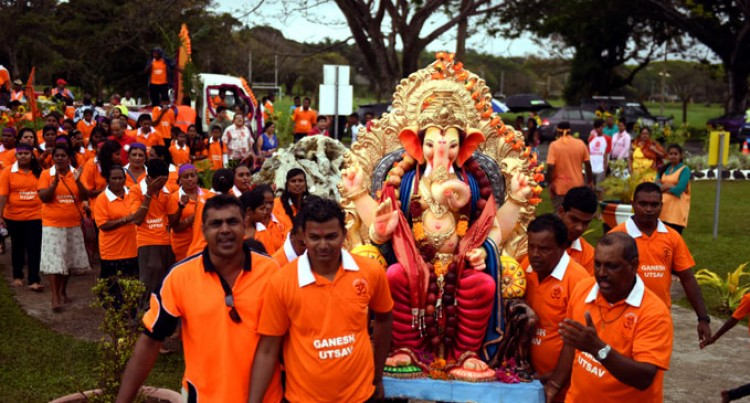 Hindus Mark End Of Ganesh Festival