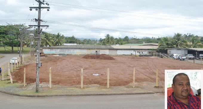 $4M Galaxy Plaza Groundworks Begin In Labasa