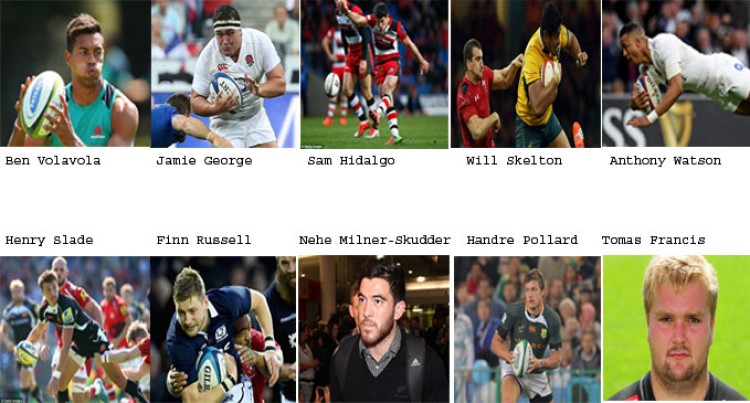 Rugby World Cup Players to Watch