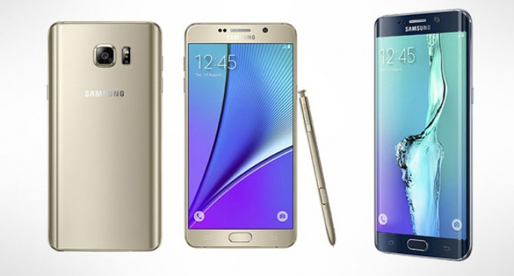 Samsung's Note 5 And S6 Edge+ here