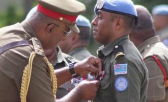 Troops Receive Medals