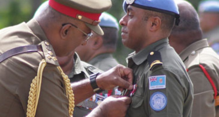 Troops Receive Medals