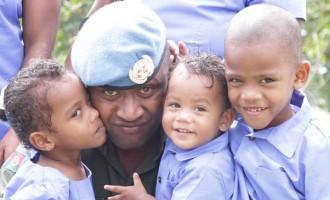 Anxious Vatanitawake Family Reunites With Dad