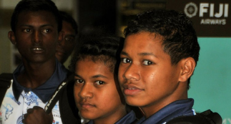 Team Fiji Leaves for Samoa