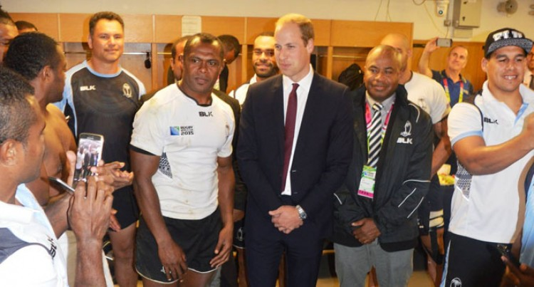 Prince William Meets Team
