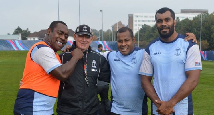 Fiji A Force  Upfront: Muir