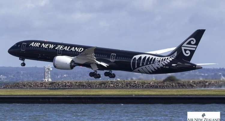 Air NZ's Inaugural Dreamliner Flight Here Next Week