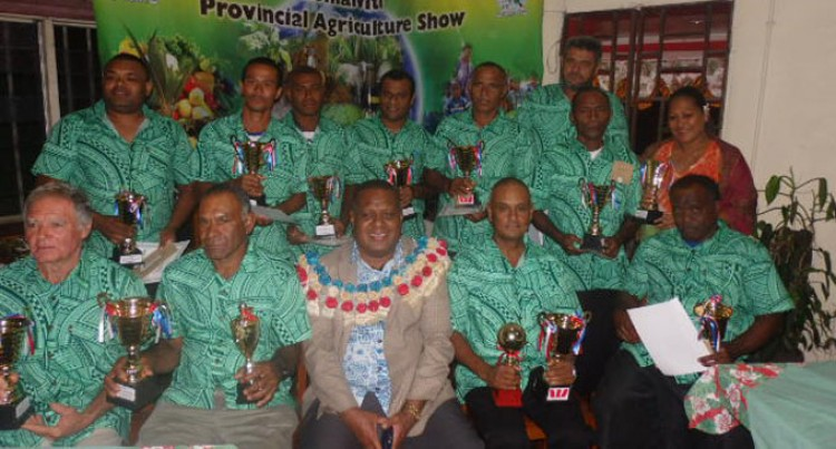 Lomaiviti Farmers Awarded At Agriculture Show