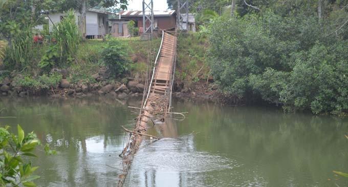 Roads Authority To Help Replace Broken Suspension Bridge