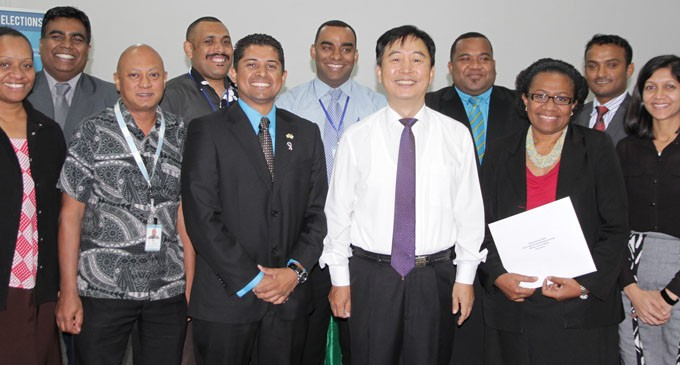 Fijian Elections Staff Bound  for Training in Korea