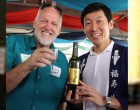 Sake Master Takes Prime Spot In FNU Food Fest