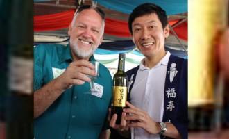 Sake Master Takes Prime Spot In FNU Food Fest