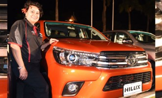 PICTURE CAPTION: Launch Of The 2015 8th Gen Toyota Hilux