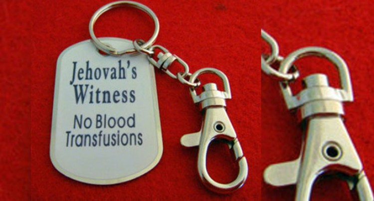 Jehovah's Witness Don't Accept Blood Transfusions