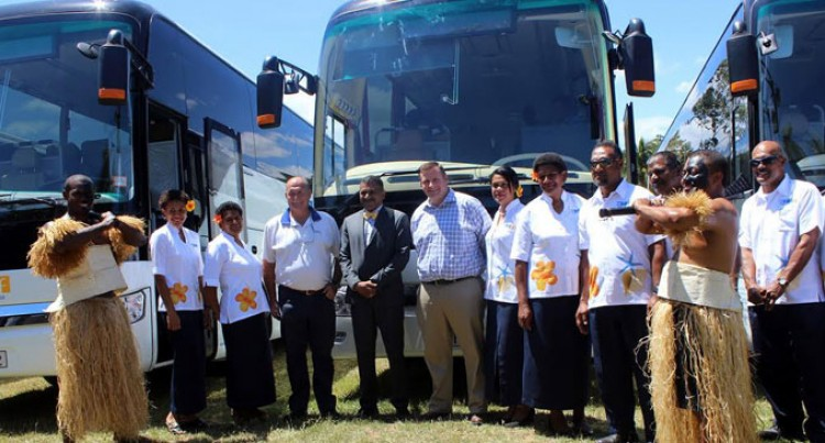 Tourist Transport Fiji Bring New Fleet