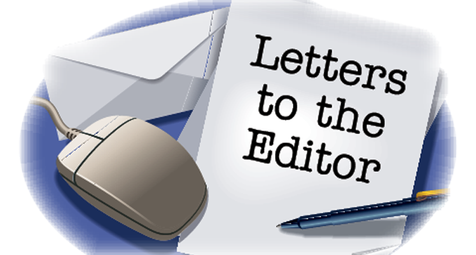 Letters To The Editor, 3rd November,2015