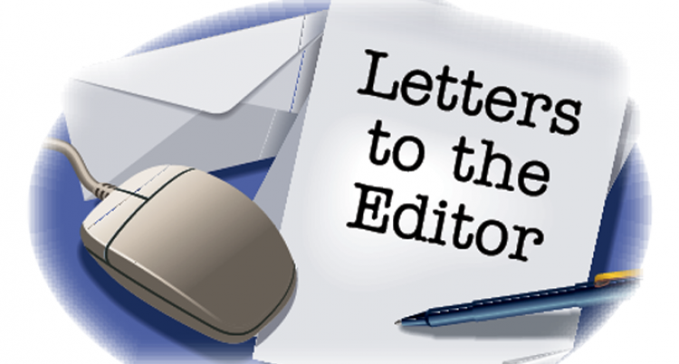 Letters To The Editor, 19th December 2015.