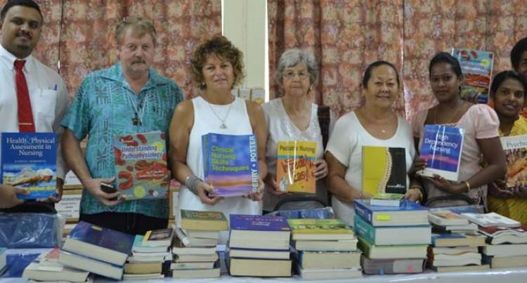 $250,000 Medical Books For Sangam Nursing School