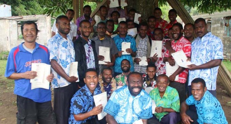 Villagers Get First Hand Training