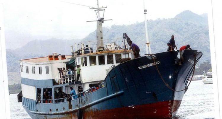 Inter-island Vessel  Undergoes Repair Works