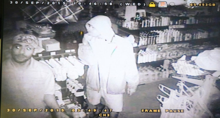 Robbery Suspects Caught On Camera