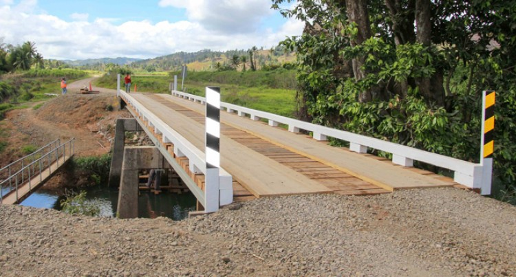 Cane Transport Bridge Ready For Use