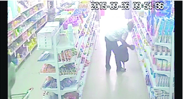 Alleged Shoplifters Caught On Camera