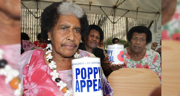 Poppy Appeal Recognises Sacrifices