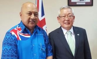 Korean Elections Envoy Visits Ratu Inoke