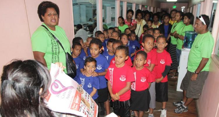 Vuda Kids Visit Fiji Sun