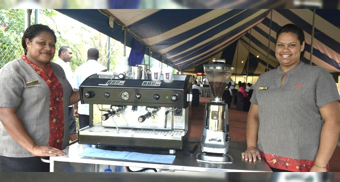 Tanoa Group Pair For  Barista Competition