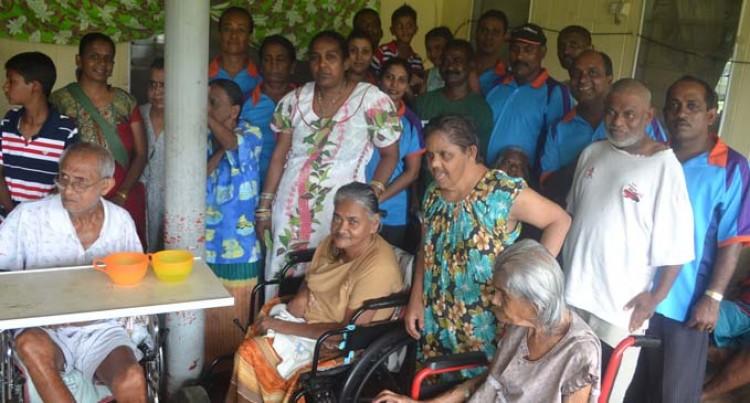 TIV Visit Lights Up Day For Ashram Residents