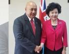 China Lauds  Fijian Support