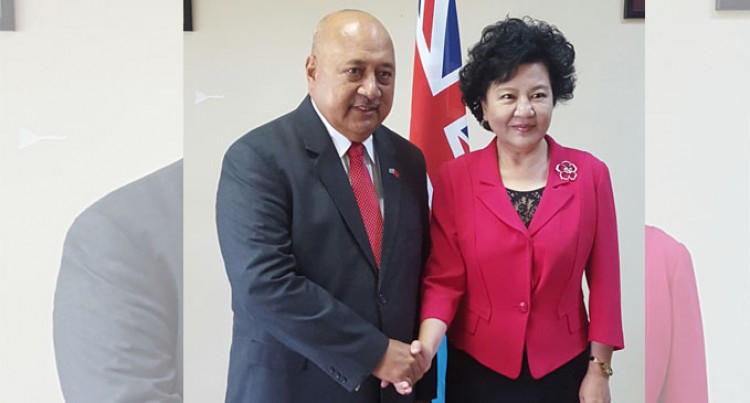 China Lauds  Fijian Support