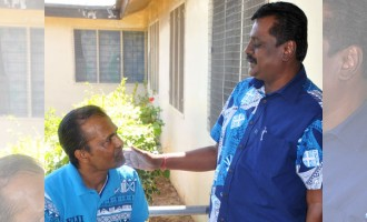 Minister Treats Golden Age Home Residents