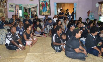 Nadroumai Villagers Cheer ALL BLACKS… as Waisake  Naholo scores fastest try  at RWC in 1minute and 14seconds