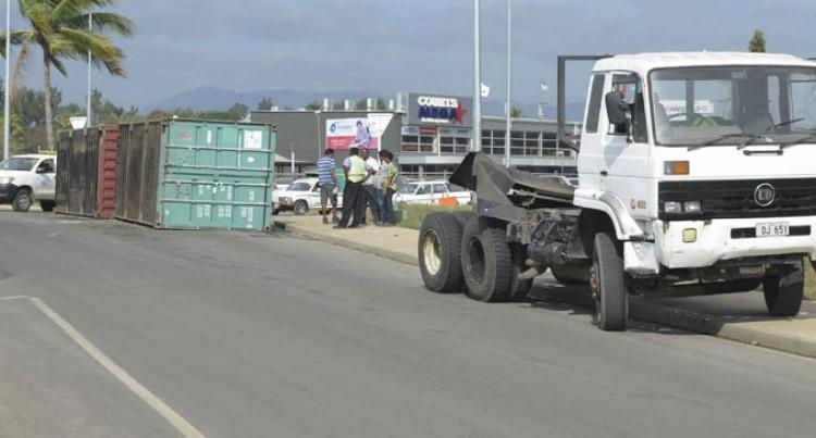 Votualevu Accident Causes Traffic Congestion