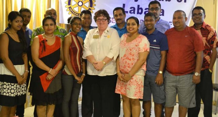 Thumbs Up For  Rotary Clubs Here