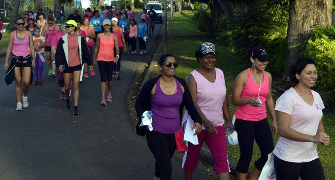 Pinktober 'Walk  And Talk' In Nadi