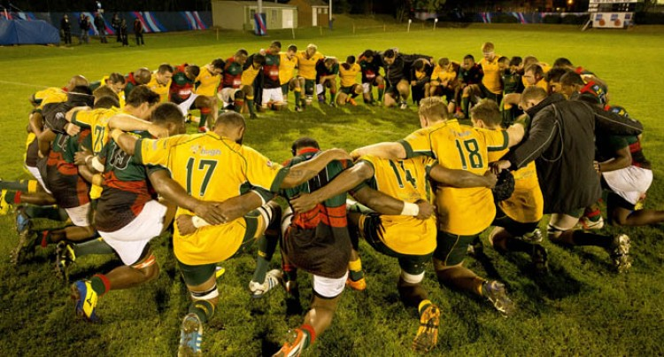 Fiji, Tonga,  Aussies Team Up